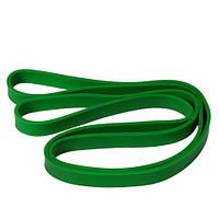 Эспандер резиновый для фитнеса зеленый