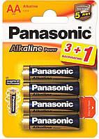 Батарейка Panasonic Alkaline Power AA/LR06 BL 4 шт (LR6APB/4BP)