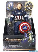 Фигурка супер героя Капитан Америка (32см) (Марвел / Avengers)  с подвижными конечностями scn