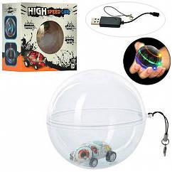"""Детская игрушечная Машинка """"Джип"""" в шаре (свет USB)"""