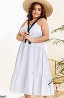 Платье свободное большого размера ( 3 расцветки)