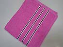 Полотенце махровое Эрмет 50*90 см розовое, фото 3