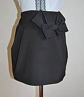 Школьная юбка черного цвета для девочек классическая, фото 1