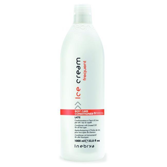 Кондиционер Inebrya Best Care Conditioner с маслом льняного семени для всех типов волос 1000 мл