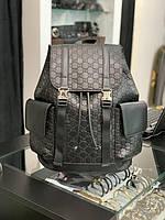 Рюкзак Gucci черный|Рюкзак повседневный Гуччи большой|Портфель Gucci мужской|Мужской женский рюкзак Gucci