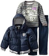 """Костюм для мальчика (джинсы, куртка, футболка) """"Ваву Тоgs"""".Размеры:М-XL."""