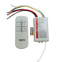 Пульт дистанційний на 3 канали для люстр,світильників і інших електроприладів TY-103