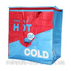 Термо-сумка Холодильник термос для Їжі та Напоїв Cooling Bag (34х22х36см), фото 2