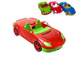 """Детская игрушечная машинка """"Кабриолет"""" без наклеек"""