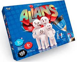 Настольная игра в слова Danko Toys Alians G-ALN-01U