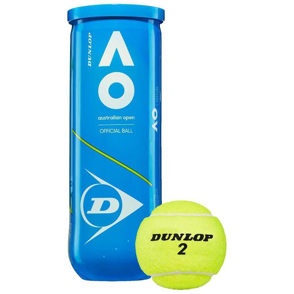 Теннисные мячи Dunlop Australian Open 3 ball (9505)