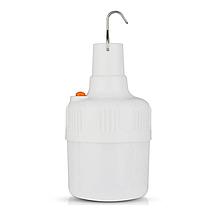 Фонарь лампа для кемпинга, отдыха подвесной на аккумуляторе BK 1820 + 1*18650 CHARGE  USB светильник Белый