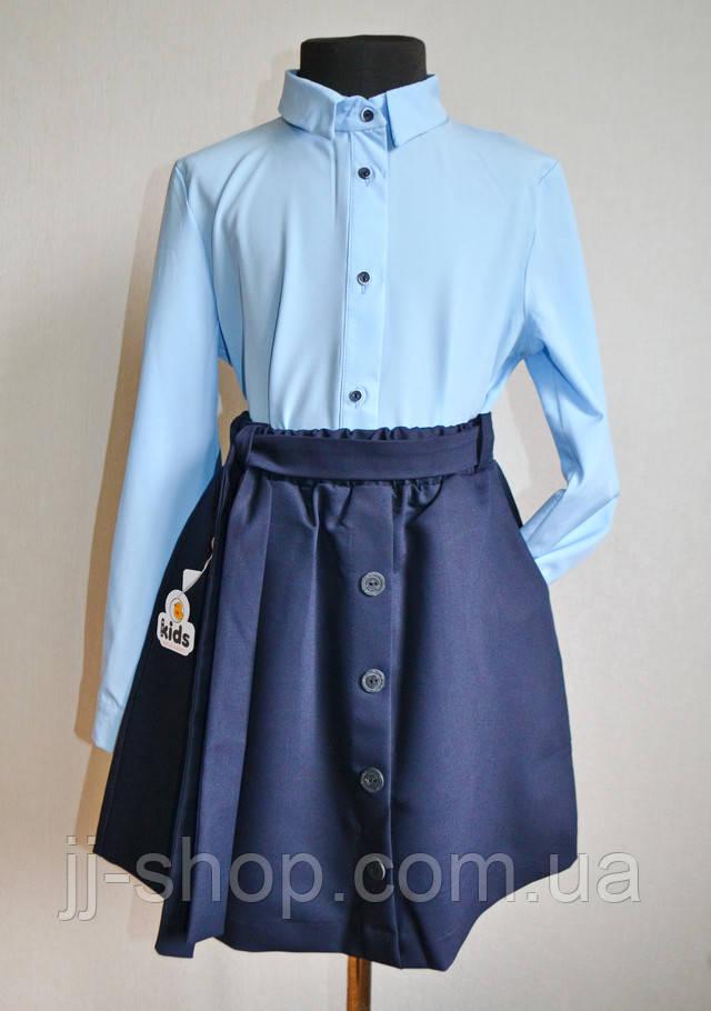 школьная блузка рубашка на девочек