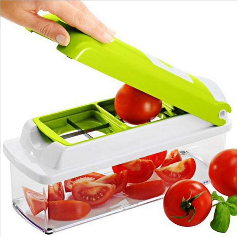 Универсальная кухонная овощерезка измельчитель| Мультислайсер | Найсер Дайсер плюс Nicer Dicer Plus (Реплика)