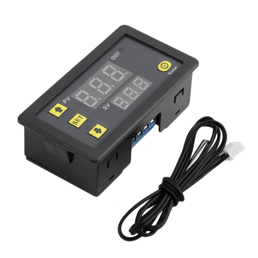 Цифровой терморегулятор W3230 220V-1500W с выносным датчиком от-50с до +120с точность 0,1 термореле