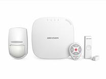 Комплект беспроводной сигнализации Hikvision DS-PWA32-NKS с брелоком (LAN, Wi-Fi, 3G/4G)