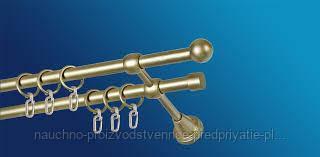 Карниз классический металлический диаметром 16 мм длиной 3 м