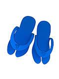 Одноразовые тапочки-вьетнамки для салонов, саун, бань, гостиниц, т. 3 мм EVA плотность 80-100 кг/м3, 39-42, фото 4