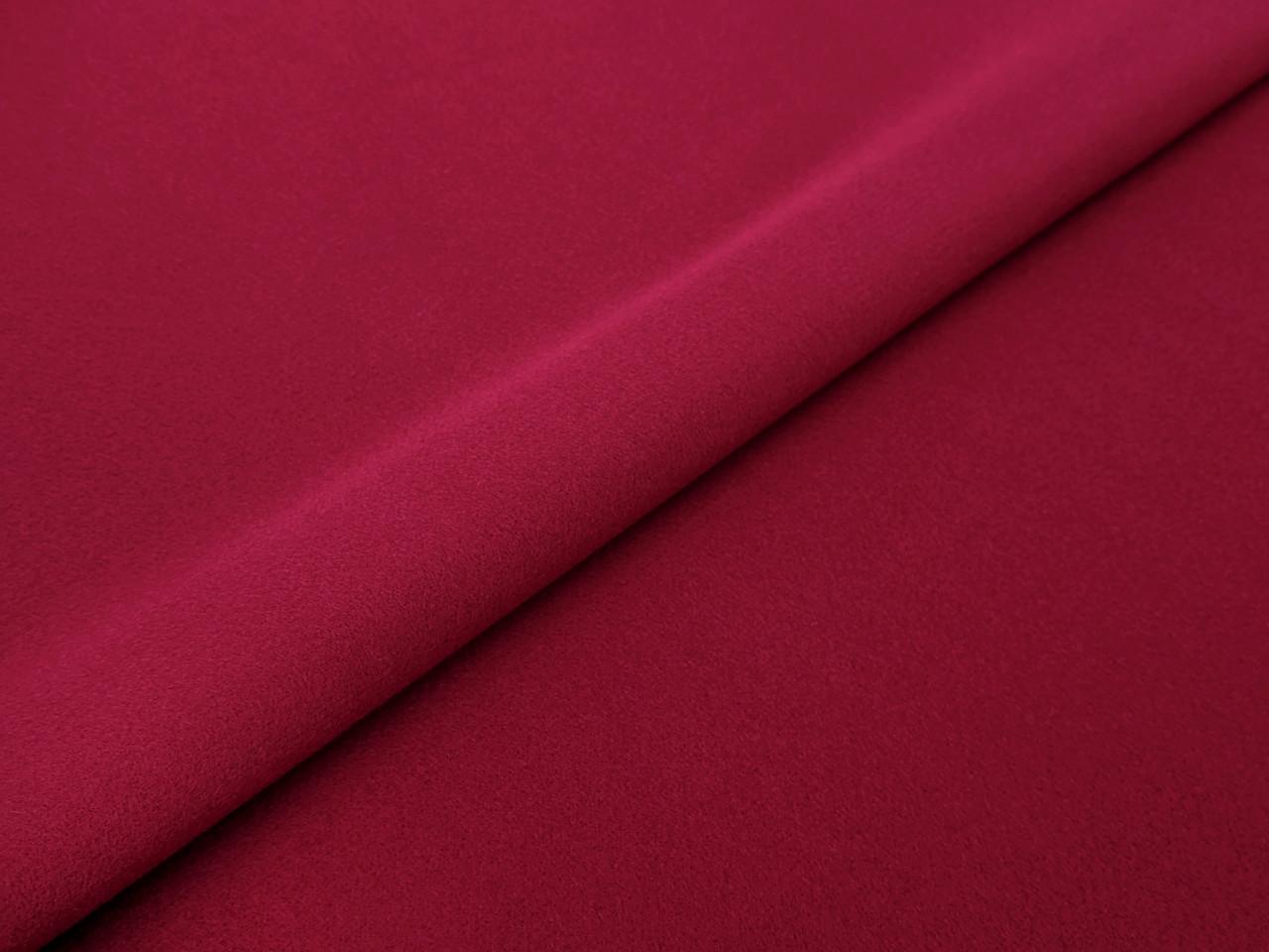Кашемир трикотажный, бордовый