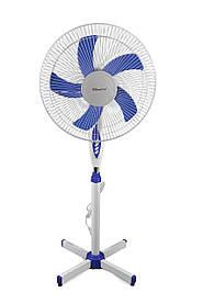 Підлоговий вентилятор з пультом і таймером Domotec MS-1621 (Продаж тільки по 4 штуки!!!)