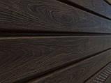 Софит U-plast PRO с центральной перфорацией орех темный (подшивка крыши), фото 4