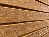 Софит U-plast PRO сплошной дуб золотой  (подшивка крыши), фото 2