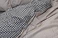 Евро комплект постельного белья сатин S-344, фото 4