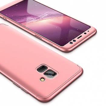 Пластиковая накладка GKK LikGus 360 градусов для Samsung A530 Galaxy A8 (2018)