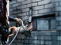 Алмазная резка бетона и кирпича