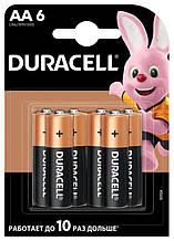 Батарейка Duracell Basic AA/LR06 MN1500 BL 6шт