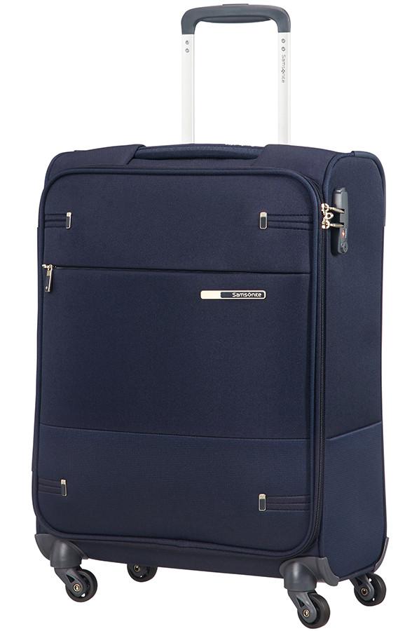 Маленький текстильный чемодан на 4-х колесах Samsonite Base Boost