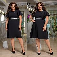 Женское платье батал с 48 по 58 рр ткань софт