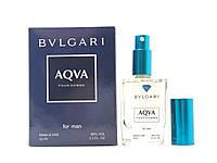 Парфюмированная вода для мужчин Bvlgari Aqva Pour Homme (Булгари Аква Пур Хомм) Diamond 50 мл - реплика
