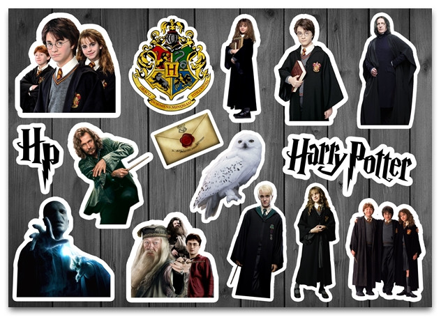 Stickers Pack Harry Potter Гарри Поттер #88