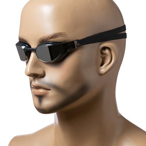 Детские очки для плавания Speedo, цвета белый, черный