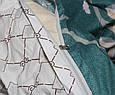 Двуспальный комплект сатин S-352 ТМ TAG, фото 4