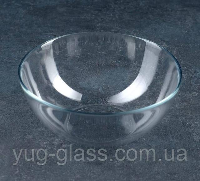 Салатник прозрачный стеклянный