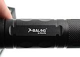 Фонарь аккумуляторный тактический мощный 1000м. подствольный светодиод P50 Police Черный, фото 5