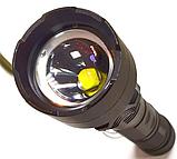 Фонарь аккумуляторный тактический мощный 1000м. подствольный светодиод P50 Police Черный, фото 2