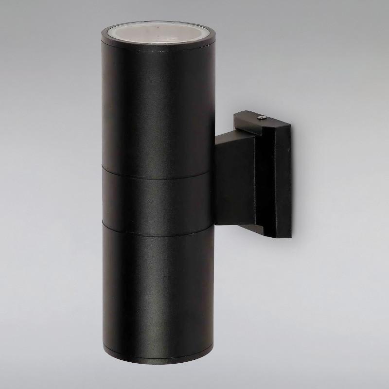 Светильник уличный настенный LS-815065-2 BK черный