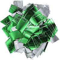 Конфетти-Метафан ЛК216 Зелено-Серебряный 2х2 1кг, фото 1