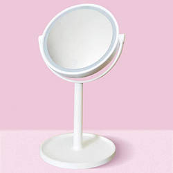 Зеркало для макияжа Mirror 00058 LED с сенсорным экраном USB 30 см