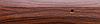 Порог алюминиевый 6А 1,8 метра тик 5х30мм скрытое крепление