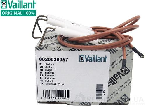 Электроды розжига и ионизации Vaillant turboTEC, atmoTEC - 0020039057