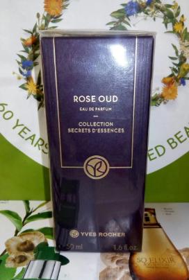 Парфюмированная Вода Rose Oud роуз уд 50 мл запаяна гарантия ив роше франция