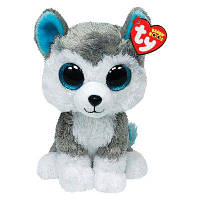 Мягкая игрушка TY Beanie Boo's Хаски, 15 см, 36006