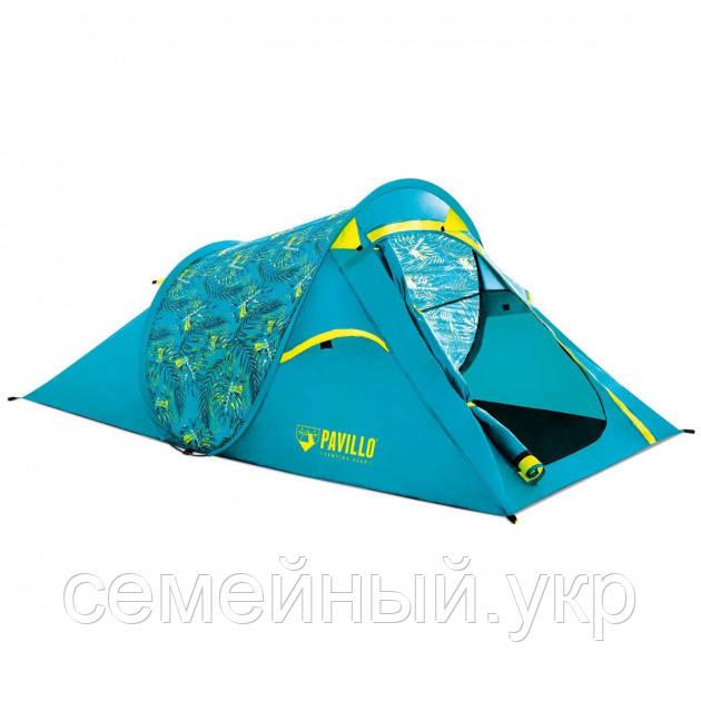 Палатка 2-х местная 220х120х90 полуавтоматическая установка Bestway Pavillo Coolrock Полиэстер. 68098