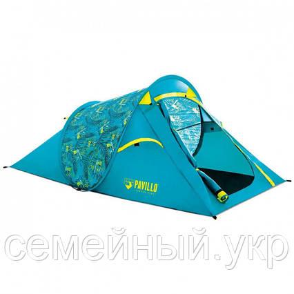 Палатка 2-х местная 220х120х90 полуавтоматическая установка Bestway Pavillo Coolrock Полиэстер. 68098, фото 2