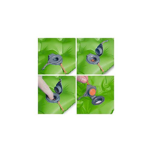 Надувний килимок Sea To Summit Air Sprung Comfort Light Insulated Mat 2020 Green Regular, фото 2