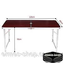 Складной туристический стол Folding Table Convenient to Take | 4 стула, фото 4